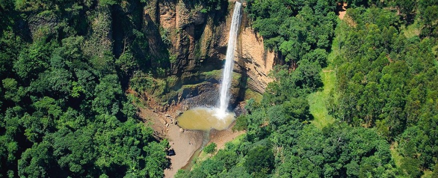 Vista Aérea Cachoeira Saltão