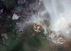 Camping e Cachoeira Saltão